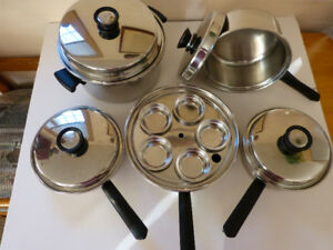 Amway Queen Stainless Steel Pots