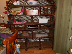 LARGE WALL UNIT, BOOK SHELF, DISPLAY, BOOKCASE