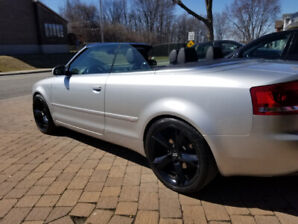 Showroom condition 2007 AWD Audi A4 convertible
