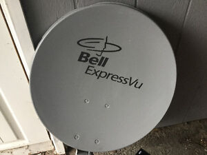 Satellite Dish and Receiver
