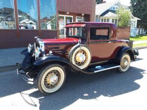 Rare 1930 Durant deluxe sport coupe rare