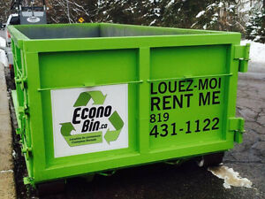 EconoBin Container Rental Lowest Price Location de Conteneurs Gatineau Ottawa / Gatineau Area image 6