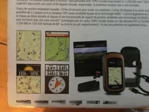Garmin GPS ( great for hikes and long distance treks)