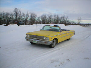 "For Sale"" 1963 Galaxie 500 convertible"