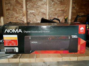 NOMA ELECTRIC HEATER with THERMOSTAT