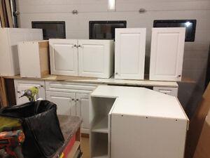 brand new white kitchen