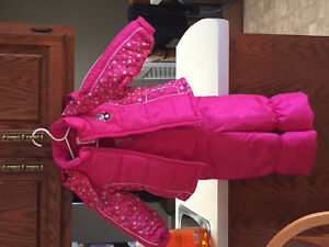 girls snowsuit size 2