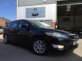 2010 Ford Mondeo 1.8 TDCi ECOnetic ECO Estate 5dr Diesel Manual Panther Black