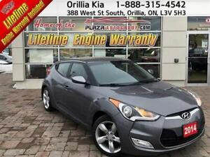 2014 Hyundai Veloster DCT A/C, Heated Seats, Back up Camera