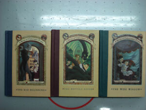 A Series of Unfortunate Events #1-3, Hardcover, Lemony Snicket