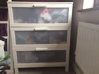 Ikea 3 draw chest of drawers
