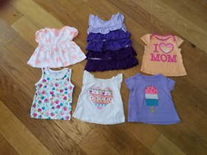 12 -18 month girl tshirts