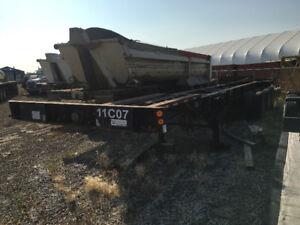 1995 Tri-axle Sea Can trailer
