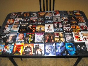 Lot DVD 700 films + Blu-Ray 420 films + Serie