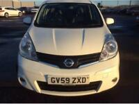 2010 59 NISSAN NOTE 1.6 16v TEKNA AUTO GOOD AND BAD CREDIT CAR FINANCE AVAILABLE