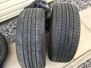 2- Toyo all season tires 245/55/19