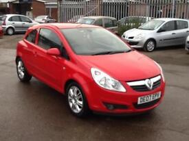VAUXHALL CORSA 1.2i 16v DESIGN MODEL- 07 - JUST HAD A MAJOR SERVICE
