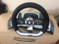 Xbox 360 force feedback steering wheel