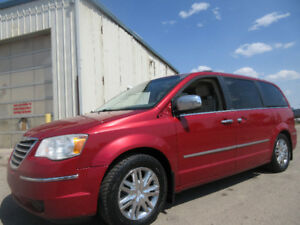 2008 CHRYSLER TOWN & COUNTRY LIMITED-DVD-HDTV-NAVI-SUNROOF