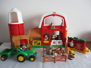 Ferme  Little  People  Sonore  Complet