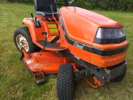 Kubota G1900 hst 4ws diesel ride on mower lawnmower