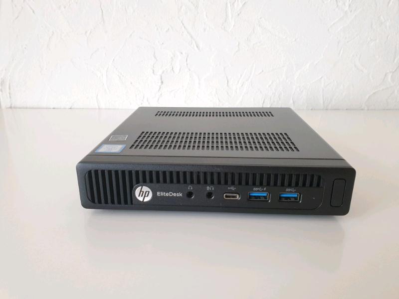 Hp elitedesk 800 G3 mini Desktop PC | in Peterborough, Cambridgeshire |  Gumtree