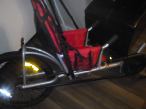 Children's bike carrier.