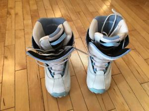 Hemper blue/white snowboard boots sz 6 - negotiable
