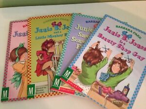 Lot of 4 Junie B Jones books
