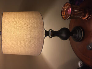 2 beautiful like new lamps from Winners
