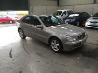 03 Reg Mercedes c200 kompresor avantgarde se automatic 1 owner full service cheap car like low miles
