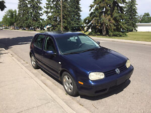 2002 Volkswagen Golf GLS Sedan