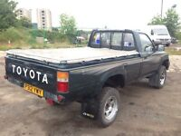Toyota hilux rear canopy's