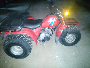 Honda atc big red