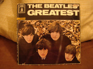 THE BEATLES' GREATEST EMI Odeon German Pressing