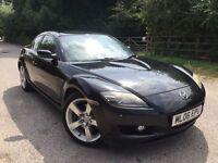 Mazda rx8 black