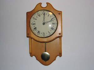 Home made wall clock