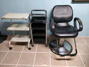 Facial steamer n chair