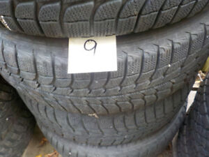 Michelin X-Ice 215/70/15 Snow Tires with Rims