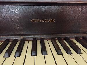 FREE Story & Clark upright piano