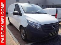 2015 Mercedes-Benz Vito 111 CDI Diesel white Manual