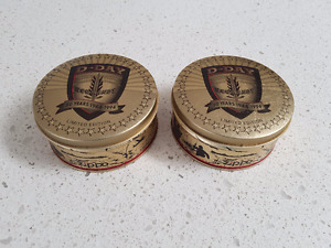 ZIPPO D-DAY COLLECTORS TINS