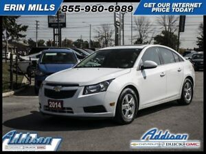 2014 Chevrolet Cruze 2LTLeather Sunroof My Link Alloys Rear Came