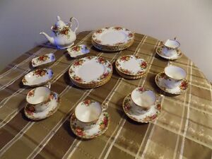 Royal Albert's Old County Roses Pattern