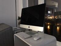 Complete Apple Mac 21.5 inch LED backlit display, 2.7 quad core intel.