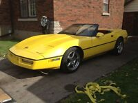 REDUCED 1988 CORVETTE CONVERTIBLE e tested