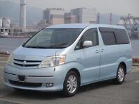 TOYOTA ALPHARD HYBRID, 2.4, 2004, 54,668 MILES, AUTOMATIC IN BLUE