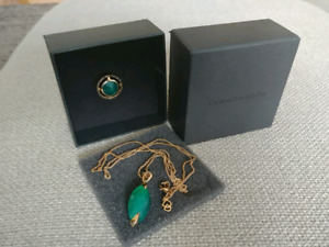 Dean Davidson Ring and Necklace Set