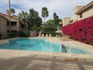 Scottsdale McCormick Ranch Fully Furnished One Bedroom Condo