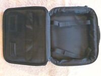 Black Leather Targus Carrying Case